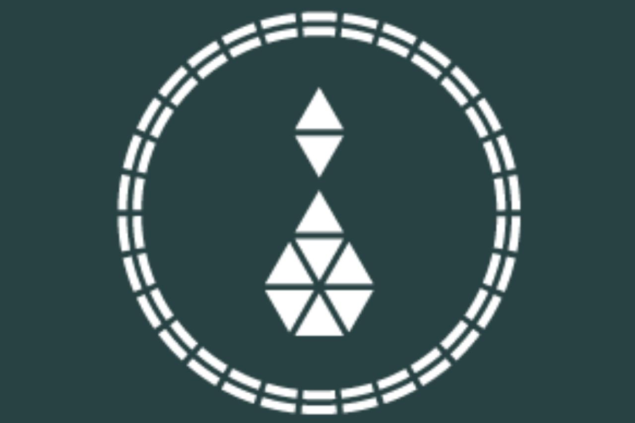 White Diamond Charm Logo
